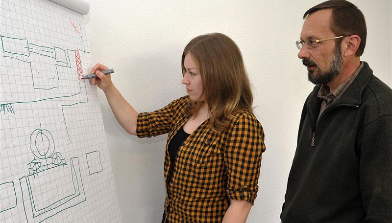 bauzeichner in ausbildungen lehrstellen und karriere in mecklenburg vorpommern. Black Bedroom Furniture Sets. Home Design Ideas