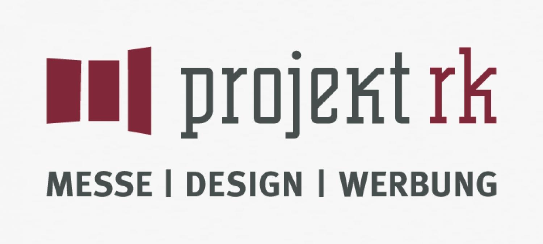 Logo von projekt rk | Messe Design Werbung
